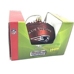 New - NFL New England Patriots - SC Sports -  Football Christmas Ornament
