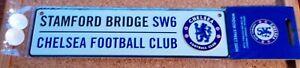 Official Chelsea FC 3D Metal Street Sign (Stamford Bridge SW 6) - FREE POSTAGE!