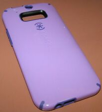 Speck CandyShell hybrid hard case for HTC One M8, Lavender & Purple, NEW