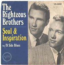 RIGHTEOUS BROTHERS--PICTURE SLEEVE + 45--(SOUL & INSPIRATION)--PS--PIC--SLV