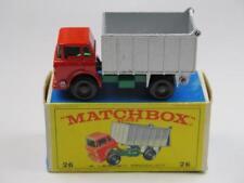 MATCHBOX 1-75 Regular Wheels 26 GMC Tipper Truck VGC in E4 box