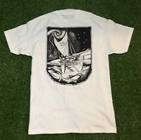 Vintage The Eyes Of The Chief Makali'i White Art Tee Double Sided Size Medium