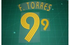 Flocage TORRES Espagne - maillot  Patch Football Spain