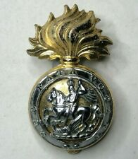 Northumberland Fusiliers Anodised Staybrite  cap badge Gaunt