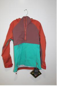 Burton AK Gore-Tex Kimmy Anorak Jacket - hot sauce/rose brown spectra Size Small