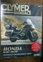 New Clymer Repair Manual Honda GL1200 1984-1987  M504