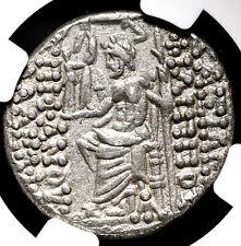 SELEUKID. Philip I, 95-75 B.C. Silver Tetradrachm, NGC Ch VF