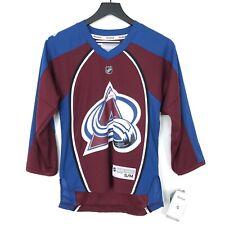 NWT Reebok Colorado Avalanche NHL Hockey Jersey Shirt Youth S/M