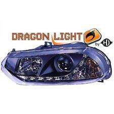 LHD Scheinwerfer Projektor Paar LED Drache klar schwarz für Alfa Romeo 156 97-03