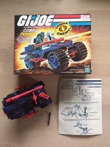 GI Joe ARAH Ferret ATV with Box 1985 Hasbro