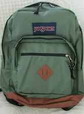 "NEW Jansport City View Backpack Muted Green 31L Capacity 15"" Laptop Space"