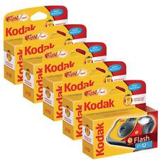 5x Kodak Fun Flash Einweg/Single use Kamera (39 Dosen)
