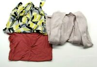 Maurices Women's Medium Cardigan, Blouse, & Top Mixed Styles Lot of 3