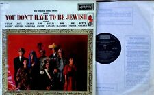 BOB BOOKER / GEORGE FOSTER - YOU DON'T HAVE TO BE JEWISH - LONDON LBL - U.K. LP