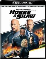 Fast & Furious Presents: Hobbs & Shaw (4K Ultra HD/Blu-ray, 2-Disc Set)