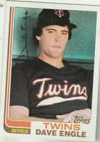 FREE SHIPPING-MINT-1982 Topps #738 Dave Engle Twins PLUS BONUS CARDS
