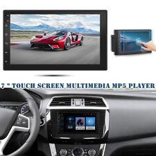 "Car 7"" Touch Screen Multimedia MP5 Player Radio Car Stereo FM BT 2 USB Universal"