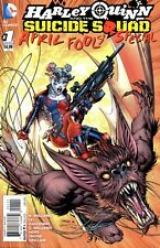 DC Comics Harley Quinn and The Suicide Squad #1 June 2016 # 9b1