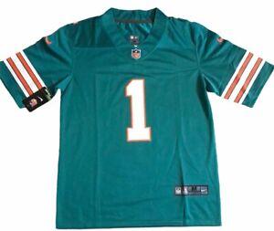 Stitched Tua Tagovailoa Miami Dolphins Jersey Teal - M, L NWT