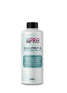 2021 NEW Prep And Wipe Nail Gel Polish Cleanser Cleaner UV LED Manicure 30ml