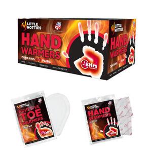 Little Hotties Hand / Toe Warmers 4/10/20/30/40 Pack 8hr heat! Snow Ski Socks