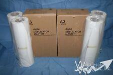 4 Duplicator Master Rolls Compatible With Ricoh HQ-90L HQ 893265 CPMT24 HQ90L