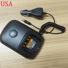 12V 24V Car DC Charger Base Dock For Motorola Radio DGP6150 DGP6150+ XIRP8268