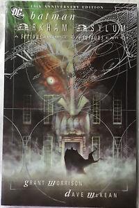 DC Batman Arkham Asylum 15th Anniversary Graphic Novel Paperback Great Condition