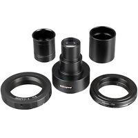 AmScope Canon & Nikon SLR/DSLR Camera Microscope Adapter 2X Magnification