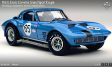 EXOTO #18023 1963 Corvette Grand Sport/Nassau Speedweek Pabst/Cannon #65 1:18NIB