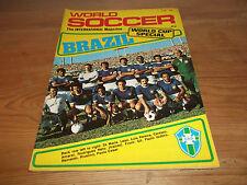 FOOTBALL MAGAZINE monde soccer juin 1978 COUPE DU Special Cruyff Rudi Krol PSV