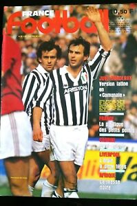 Francia Calcio 9/04/1985; Juve-Bordeaux/Cabrini/Liverpool/ Magia Nero / Yugo