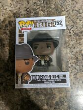 Funko Pop! Rocks Notorious B.I.G (With Fedora) #152 Rare New *In Hand*