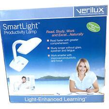 Verilux Smartlight Lamp Gooseneck White Natural Spectrum Reduce Eyestrain VD12