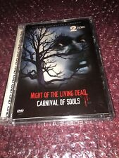 Night Of The Living Dead/Carnival Of Souls (Dvd, 2004) 2 In 1 Horror Movies 🎥