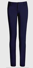 Girls Size 10 Real School Uniform Pants 5-Pocket Stretch Skinny Leg Pants Navy