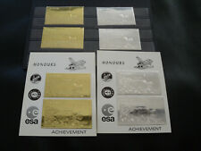 NAGA Land Marken u. Blockset Gold/Silber, mnh/postfrisch, SPACE