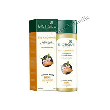Biotique Bio Almond Oil Soothing Face & Eye Makeup Cleanser 120 Ml