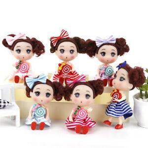 12cm Confused Doll Wedding Lollipop Girl Dolls Toys Baby Doll Creative Kids  SX