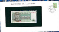 Banknotes of All Nations Burma 1972 1 Kyat P56 UNC Prefix DI