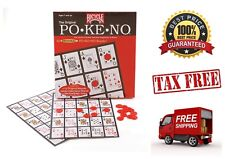 Jumbo Pokeno Game with Large Easy to See Numbers 200 Chips 12 Game Boards