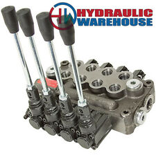 4 Spool 8 Gpm Prince Wolverine Mb41bbbb5c1 Double Acting Hydraulic Valve 9 7864