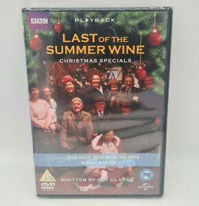 Last Of The Summer Wine The Christmas Specials DVD New Sealed