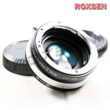 Zhongyi Lens Turbo II Focal Reducer Adapter Nikon F AI mount to Fujifilm X FX T1