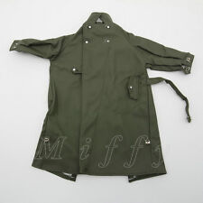 uniform 1/6 Rain Coat scale 21st WW2 German Motocycle Coat Century Toys