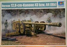 German 12,8-cm-Kanone 43 bzw.44 (Rh) - kit mezzi militari trumpeter 1/35