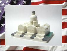 """☆NEW☆ LEGO United States Capitol City Building (Mini 2"""" X 3"""") 59 Total Pieces!"""