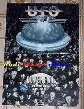 POSTER rock PROMO UFO CAVENANT 84 X 59,5cm NOcd dvd vhs lp live mc