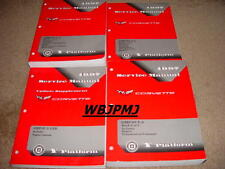 1997 Corvette Factory GM Dealership Original 4 Book Set Service Manuals