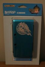 New! Monster Hunter 3 Ultimate Limited Edition Aluminum Blue 3DS Case by Capcom